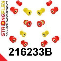 216233B: Zadná náprava - SADA silentblokov