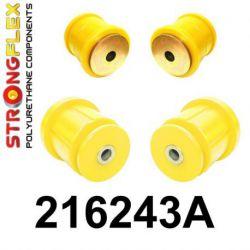 216243A: Zadná nápravnica - sada silentblokov SPORT