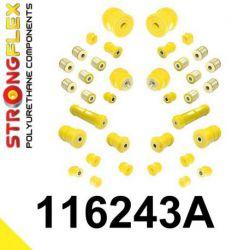 116243A: Kompletná SADA silentblokov SPORT