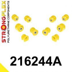 216244A: Predná náprava - SADA silentblokov SPORT