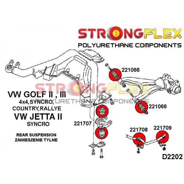 Golf 2 zadne silentbloky