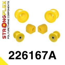 226167A: Predná náprava - SADA silentblokov SPORT