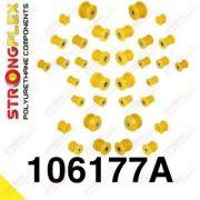 106177A: Sada silentblokov prednej aj zadnej nápravy SPORT