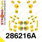 286216A: Sada silentblokov prednej aj zadnej nápravy R32 SPORT