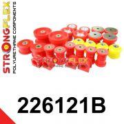 226121B: Kompletná sada silentblokov silentblokov