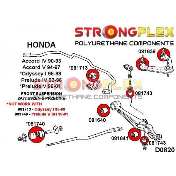 Honda Accord 4 predné silentbloky