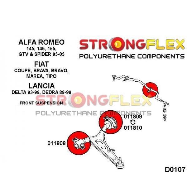 alfa romeo 145 silentbloky