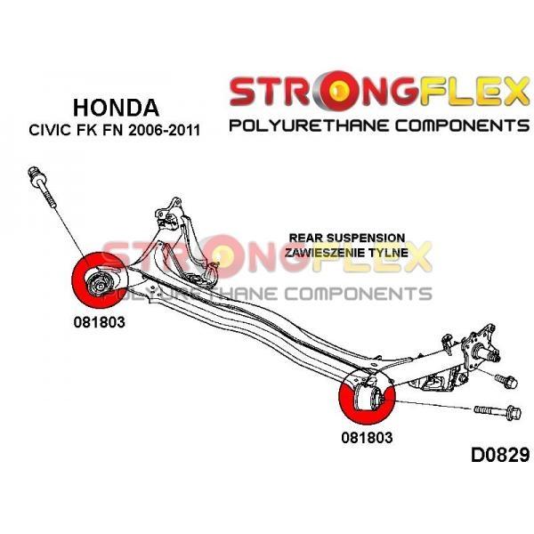 Honda Civic 8 FK zadne silentbloky
