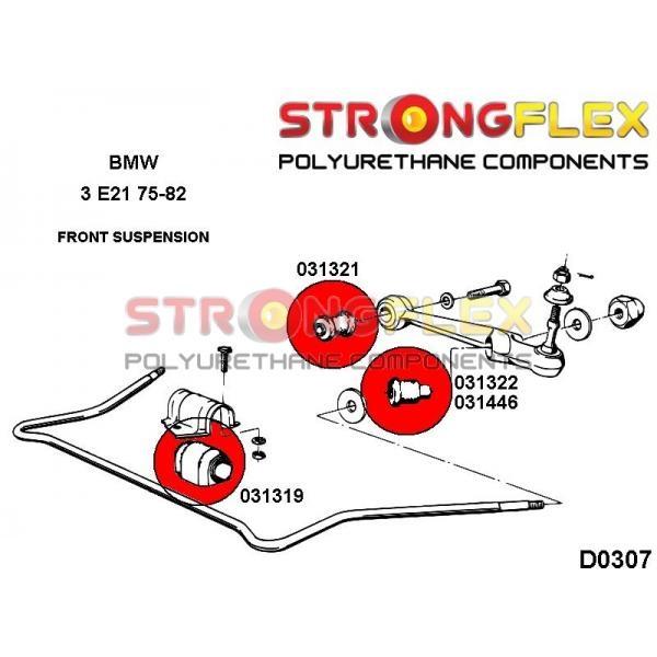 BMW E21 predne silentbloky