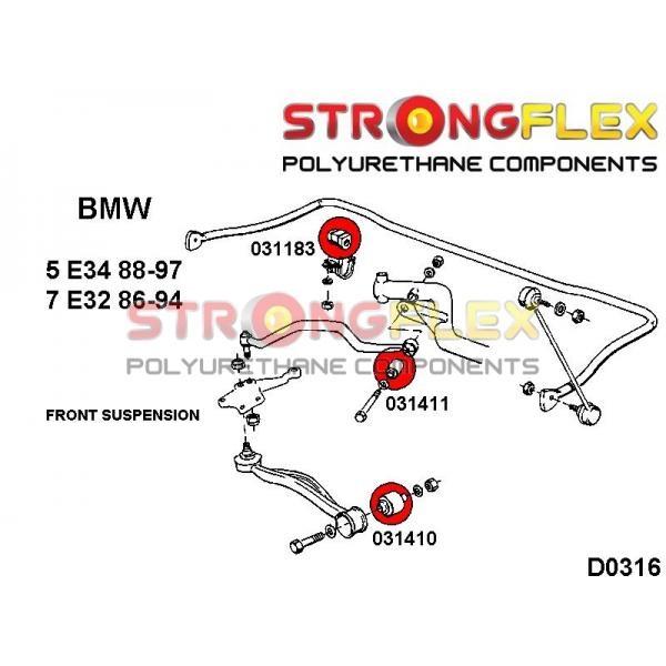 BMW E34 predne silentbloky
