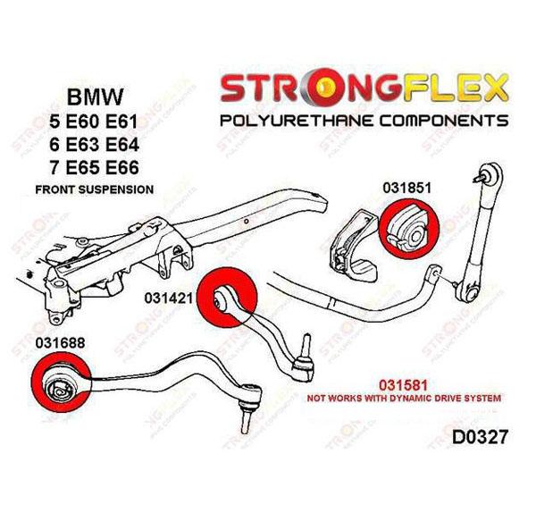 BMW E65 predne silentbloky
