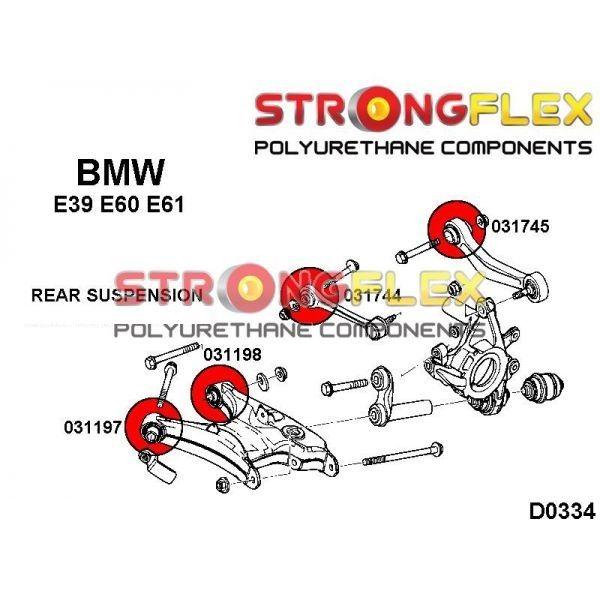 BMW E39 zadne siletnbloky