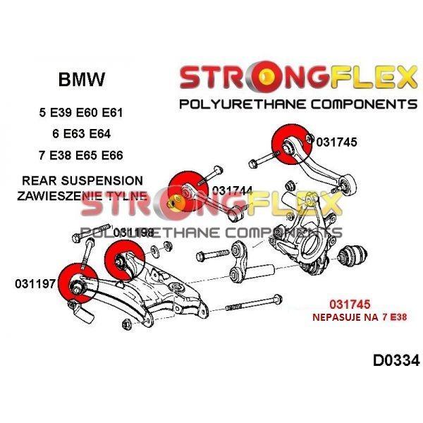 BMW E65 zadne silentbloky