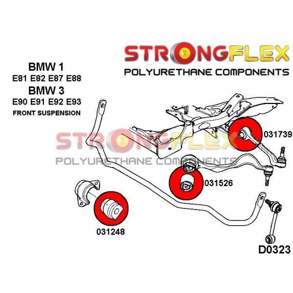 BMW 1 predne silentbloky
