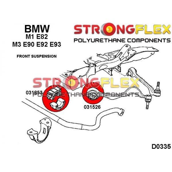 BMW E90 E92 predne silentbloky