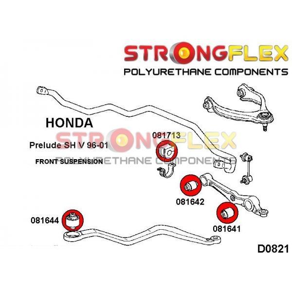 Honda Prelude 5 predné silentbloky