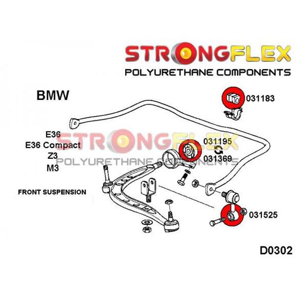 BMW Z3 predne silentbloky