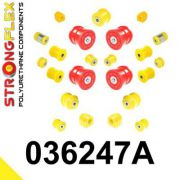 036247A: Sada silentblokov - predná a zadná náprava SPORT