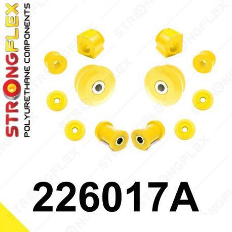 226017A: Predná náprava - sada silentblokov 17 19mm SPORT