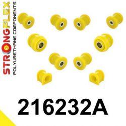 216232A: Predná náprava - SADA silentblokov SPORT
