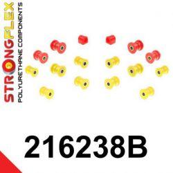 216238B: Zadná náprava - SADA silentblokov
