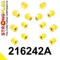 216242A: Zadná náprava - SADA silentblokov SPORT