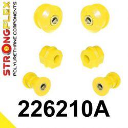 226210A: Predná náprava - SADA silentblokov SPORT