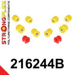 216244B: Predná náprava - SADA silentblokov