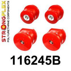 116245B: Zadná nápravnica - sada silentblokov