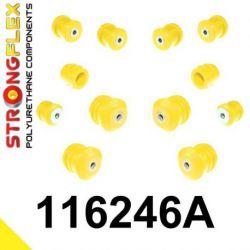 116246A: Predná náprava - SADA silentblokov SPORT