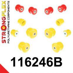 116246B: Predná náprava - SADA silentblokov