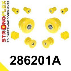 286201A: Predná náprava - SADA silentblokov SPORT