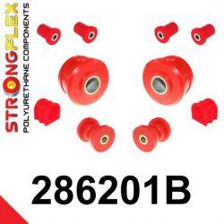 286201B: Predná náprava - SADA silentblokov