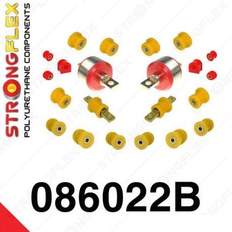 086022B: Sada silentblokov zadnej nápravy