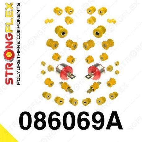 086069A: Kompletná sada silentblokov polyurethane SPORT