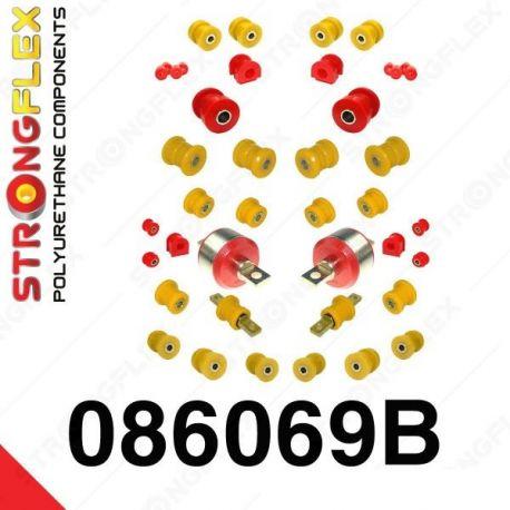 086069B: Kompletná sada silentblokov polyurethane