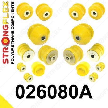 026080A: Predná náprava - SADA silentblokov SPORT