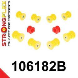 106182B: Predná náprava sada silentblokov