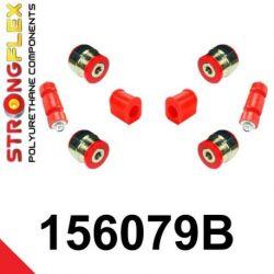 156079B: Predná náprava sada silentblokov