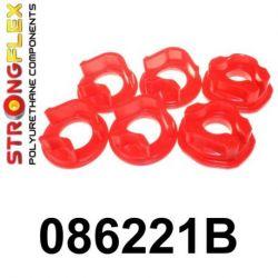 086221B: Motor - sada silentblokov (vložka)