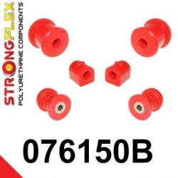 076150B: Predná náprava sada silentblokov