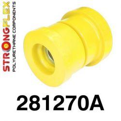 281270A: Zadná nápravnica - silentblok uchytenia SPORT