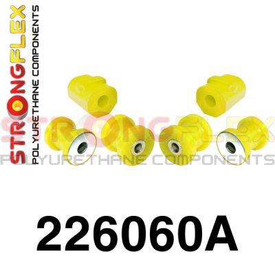 226060A: Predná náprava - sada silentblokov SPORT