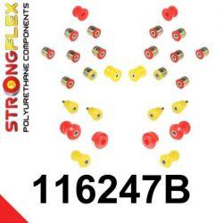 116247B: SADA - predná a zadná náprava W140