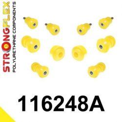 116248A: Predná náprava - SADA silentblokov SPORT