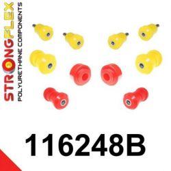 116248B: Predná náprava - SADA silentblokov