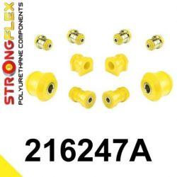 216247A: Predná náprava - SADA silentblokov SPORT