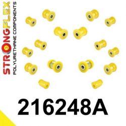 216248A: Zadná náprava - SADA silentblokov SPORT