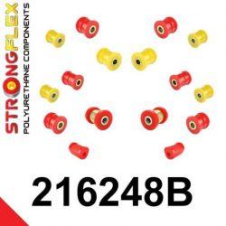 216248B: Zadná náprava - SADA silentblokov
