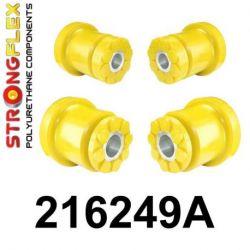 216249A: Zadná nápravnica - SADA silentblokov SPORT
